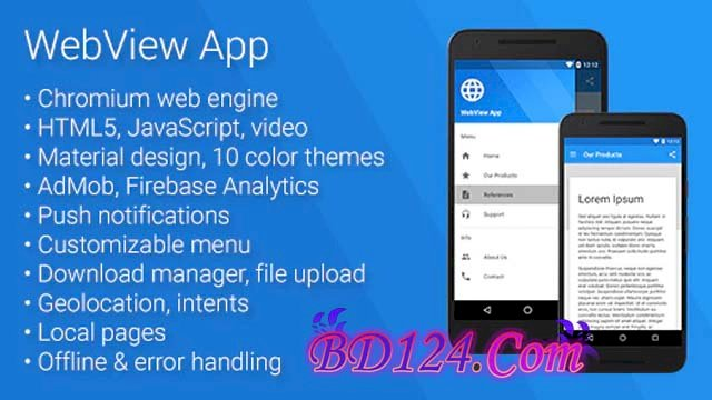 Universal Android WebView App v2.8.0